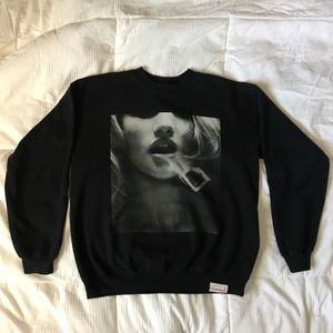 Diamond Smoke Ring Crew Neck Sweatshirt